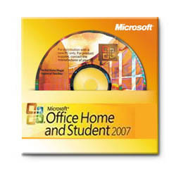 Microsoft Office Home & Student 2007 OEM (Word, Excel, PowerPoint)
