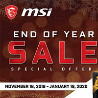 MSI End of Year Sale