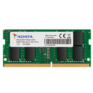 Adata AD4S3200716G22-SGN 16GB 2048MX8 DDR4 3200 SO-DIMM