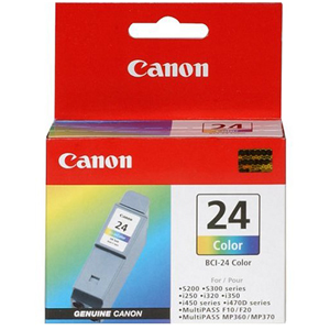 Canon BCI-24 Color Ink Cartridge