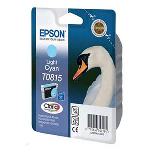 Epson T0815 Light Cyan Ink Cartridge