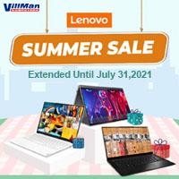 Lenovo Summer Sale June 4 - July 31, 2021