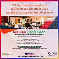 Microsoft Grab Food Promo