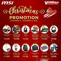 MSI Christmas Promotion