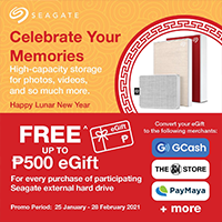 SEAGATE: Celebrate Your Memories