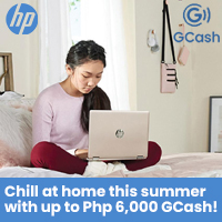 HP: Chill at Home this summer with up to Php 6,000 GCash!
