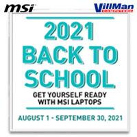 MSI 2021 Back to School Promo