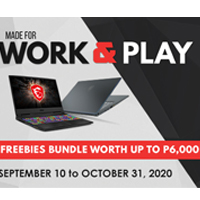 Work All Day and Play All Night with MSI
