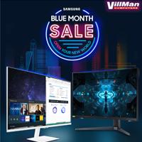 Samsung Blue Month Sale October 1 to October 31, 2021