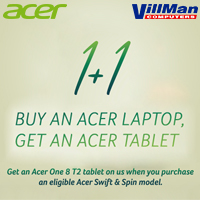 Acer Swift & Spin Tablet Bundling Program