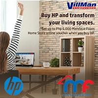 HP FREE Mandaue Foam Home Store voucher promo