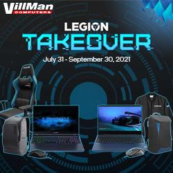 Lenovo Legion Takeover Promo July 31 - September 30, 2021