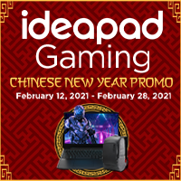 Lenovo Ideapad Gaming Chinese New Year 2021