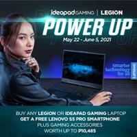 Lenovo Legion and Ideapad Gaming Power Up Promo!!!